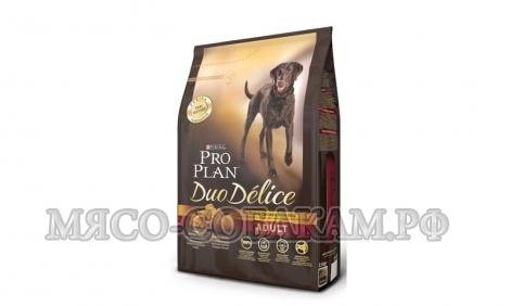 ПРО ПЛАН  для собак курица с рисом (DUO DELICE)